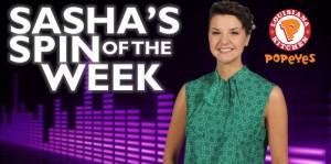 Sasha's Spin of the Week