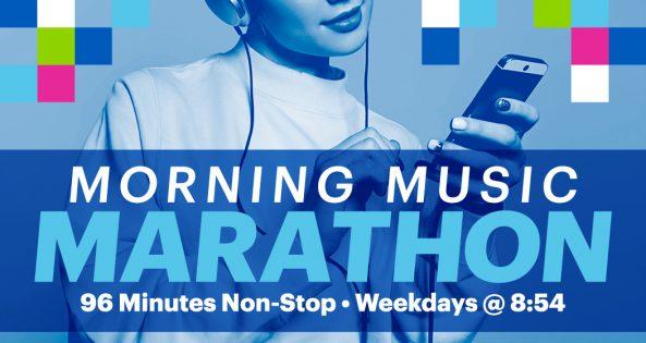 Morning Music Marathon with Sasha Spencer